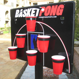 BasketPong – Half Court Game