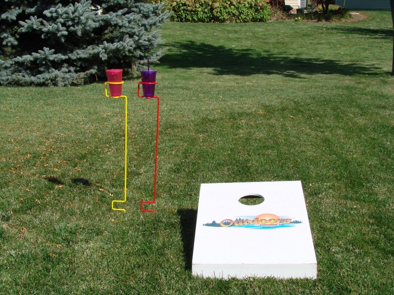 Back to Drink Holders · Single-painted-800×600 - Backyard Butler™ Single Drink Holders - Pair - Outdoors Unlimited, Inc.