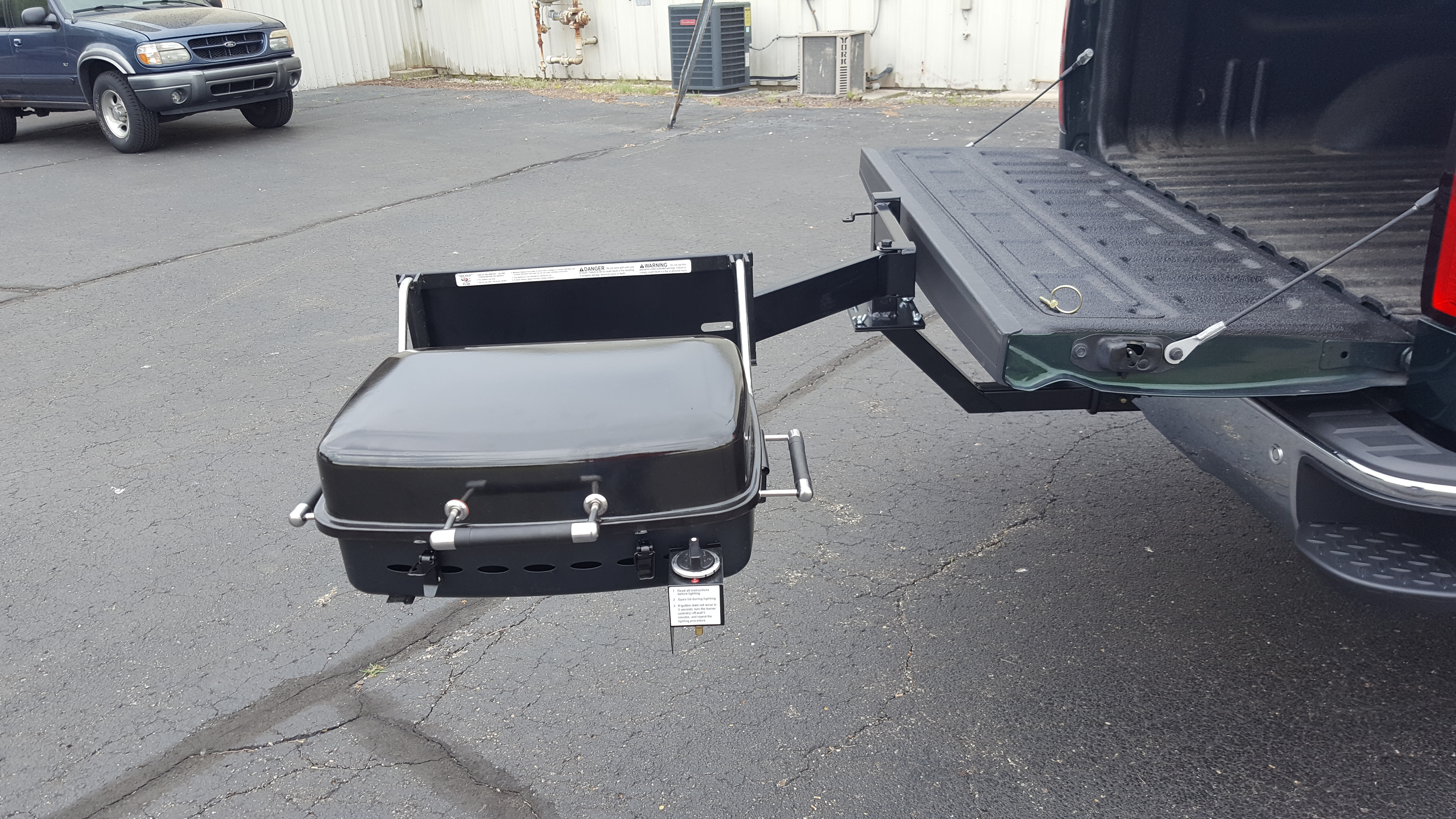 Tailgate Hitch Assembly – Outdoors Unlimited Inc