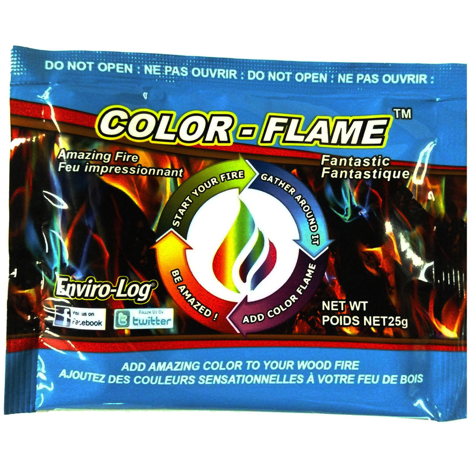 color flame single - Color Packets