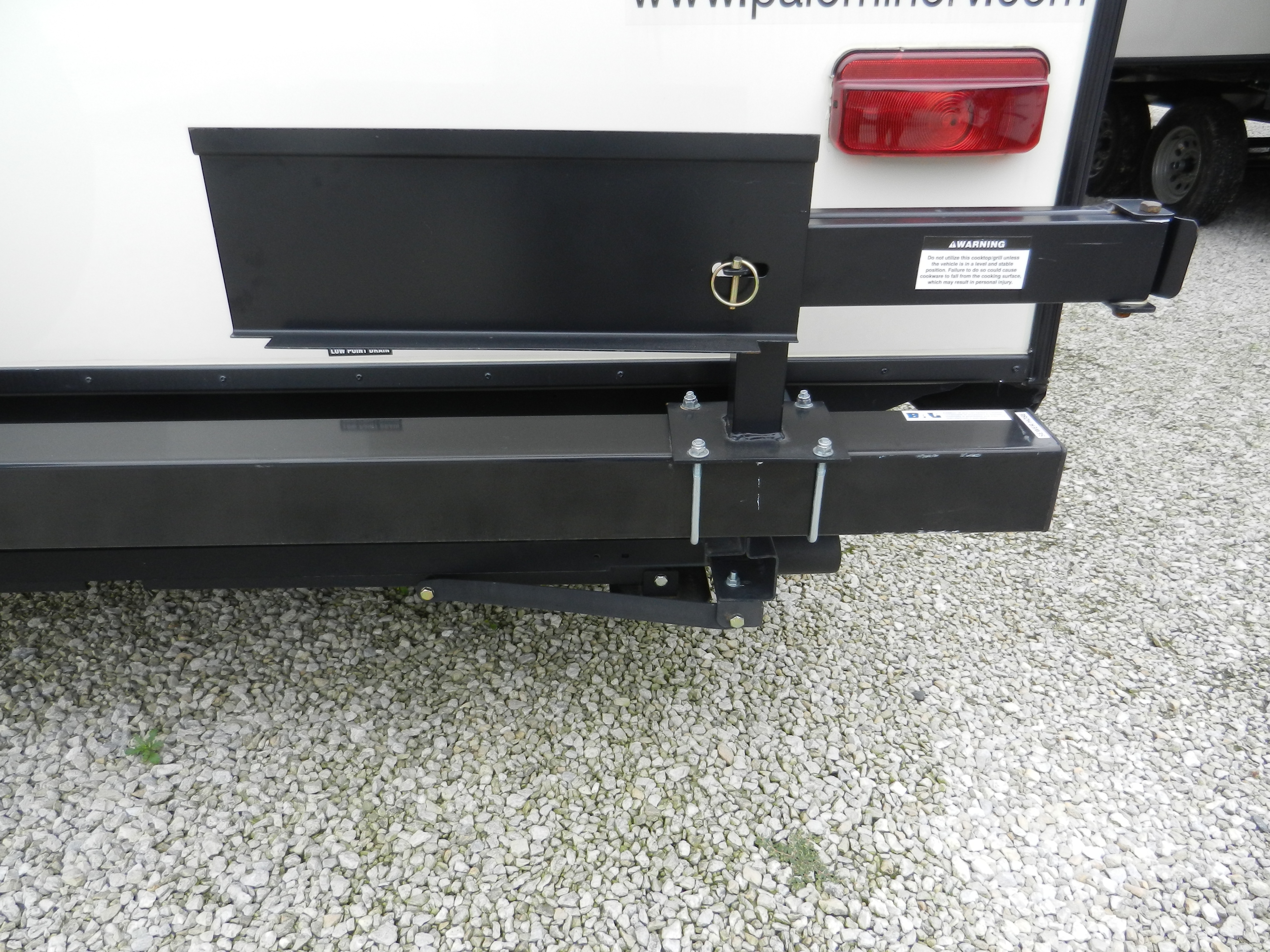 Bumper Grill Arm Assembly Outdoors Unlimited Inc : Locked Bumper Grill Arm from ouioutdoors.com size 4000 x 3000 jpeg 4577kB