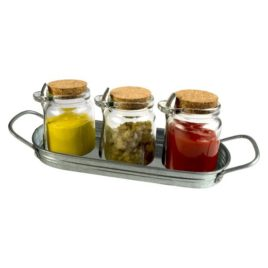 Masonware 10 piece Condiment Set