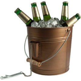 Oasis Beverage Pail – Antique Copper