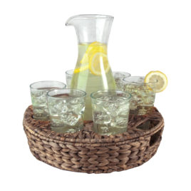 Garden Terrace 9 pc Beverage Set