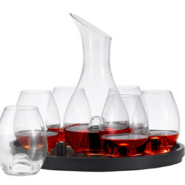 8 pc Wine Decanter Set