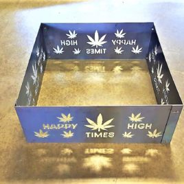 Happy High Times Square Fire Pit Rings