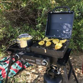 Blackstone Tailgater Combo Griddle and Grill